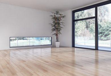 רצפת פרקט עץ טבעי לסלון
