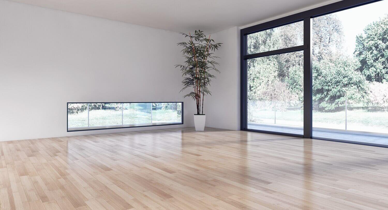 רצפת פרקט לסלון