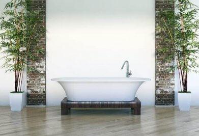 פרקט עמיד למים בחדר האמבטיה